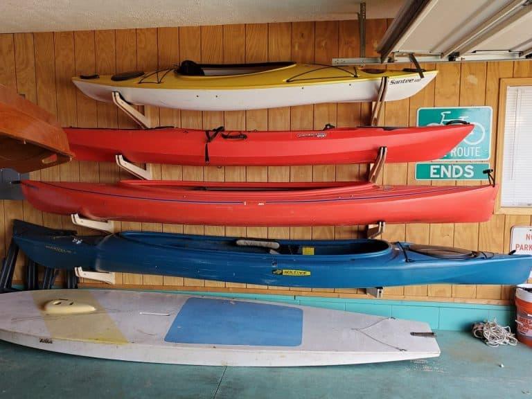 Best Kayak Storage Racks
